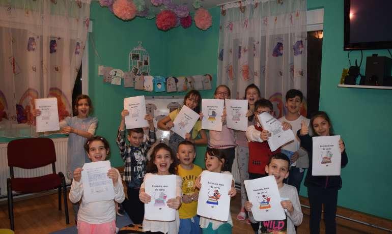 Eveniment copii- Sa ne intidem la citit