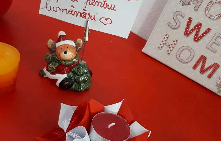 Eveniment parinti-copii: Atelier de origami